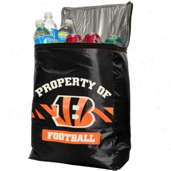 Cincinnati Bengals Black Insulated Cooler Backpack
