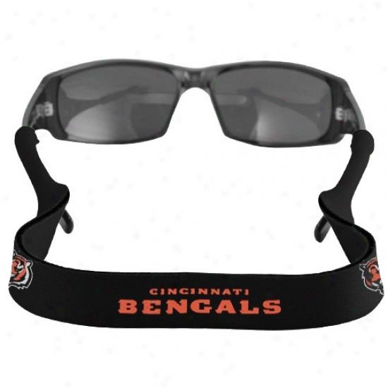 Cincinnati Bengals Black Neoprene Retwiner Sunglasses Holder