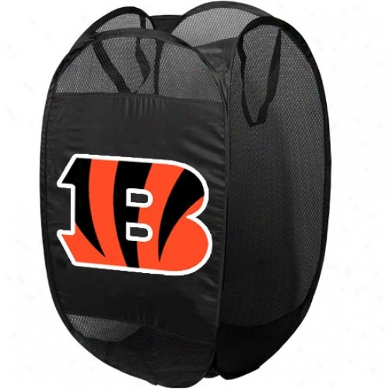 Cincinnati Bengals Black Pop-up Sport Shackle