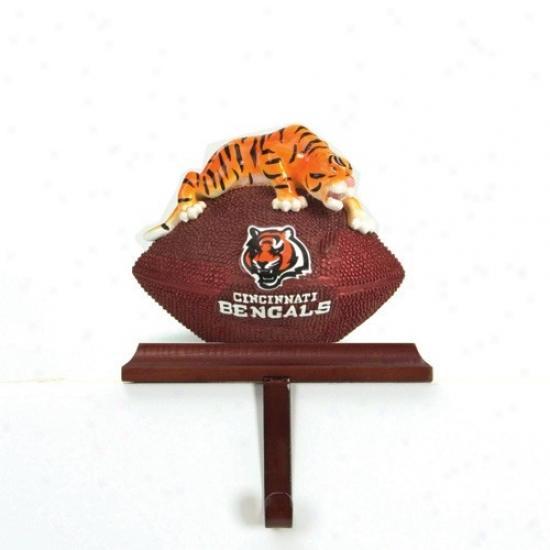 Cincinnati Bengals Mascot Stocking Hanger