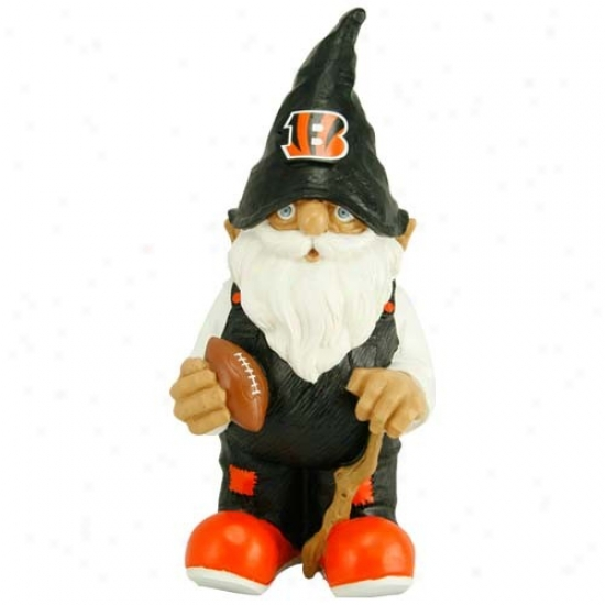 Cincinnati Bengals Nfl Garden Gnome