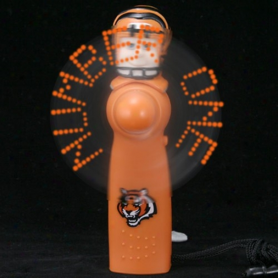 Cincinnati Bengals Orange Light-hp Player Fan