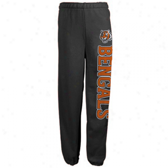 Cincinnati Bengals Sweat Shirt : Reebok Cicinnati Bengals Black Post Game Sweat Shirt Sweatpants