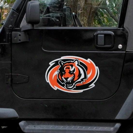 Cincinnati Bengals Team Logo Car Magnet