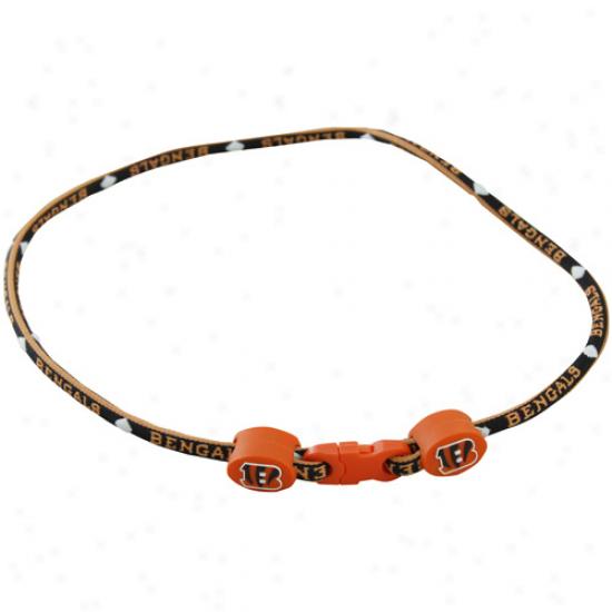 Cincinnati Bengals Titanium Spodt Necklace