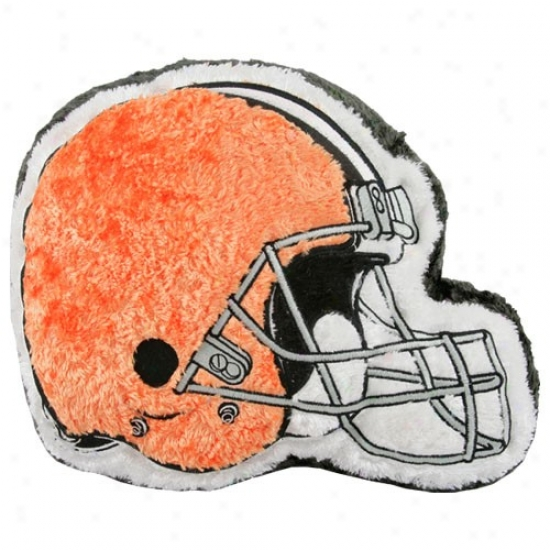 Clevelnad Browns 14'' Team Helmet Plush Pillow