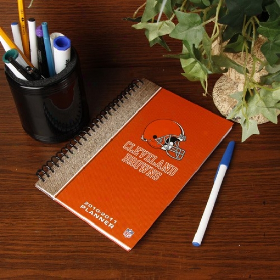 Cleveland Browns 2010-11 5'' X 8'' Planner