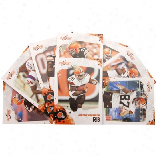 Cleveland Browns 2010 Team Set