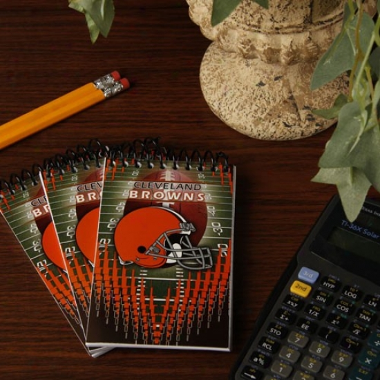 Cleveland Browns 3-pack Memo Books