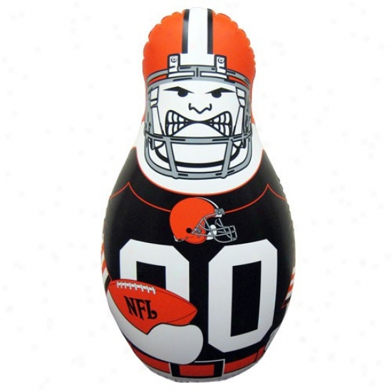 Cleveland Browns 40'' Inflatable Tackle Buddy Punching Bag