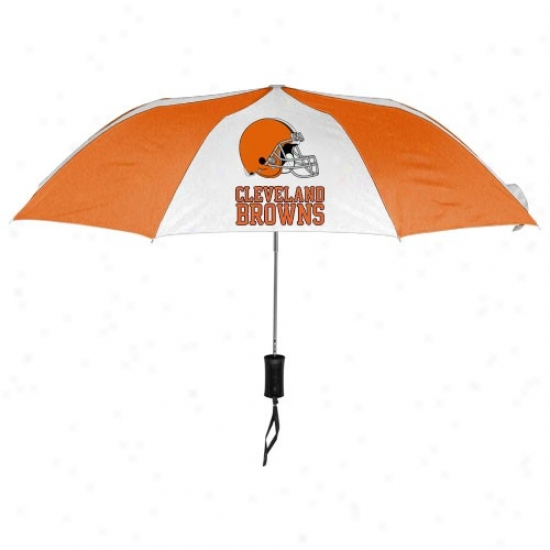 Cleveland Browns 42'' Folding Umbrella