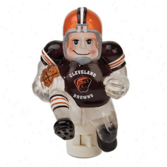 Cleveland Browns 5-inch Running Back Darkness Light