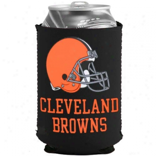 Cleveland Browns Black Collapsible Be able to Coolie