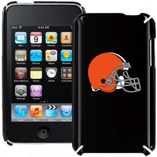 Cleveland Browns Black Ipod Touch Inclement Shell