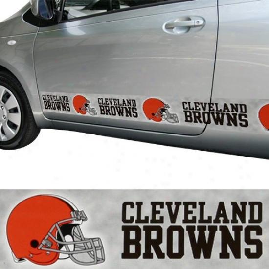 Cleveland Browns Car Rebuke Magnet