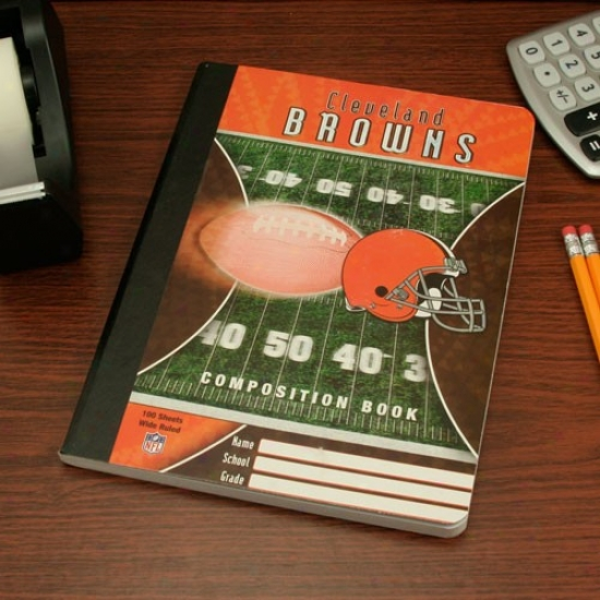 Cleveland Browns Composition Book