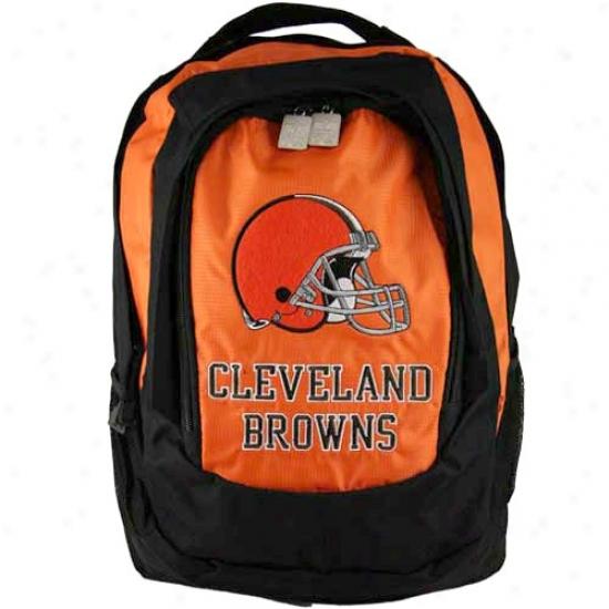 Cleveland Browns Embroidered Team Logo Backpack