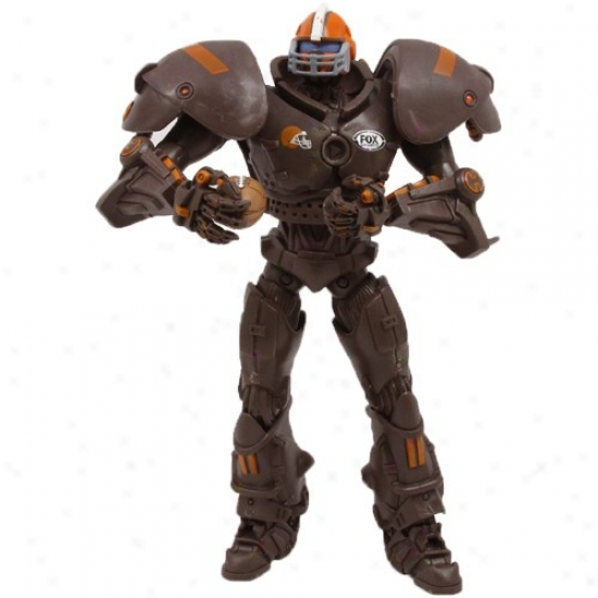 Cleveland Browns Fox Sports Cleatus The Robot Action Figure
