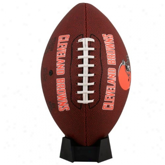 Cleveland Browns Full-size Gae Time Foottball