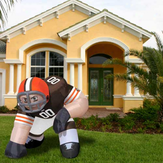 Cleveland Browns Inflatable Bubba Mascot