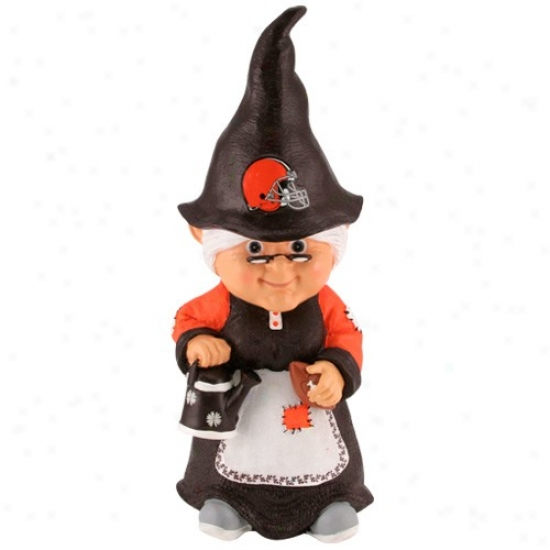Cleveland Browns Nfl Female Garden Gnome