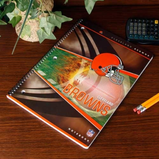 Cleveland Brpwns Notebook