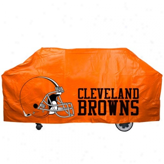 Cleveland Browns Orange Grill Cover