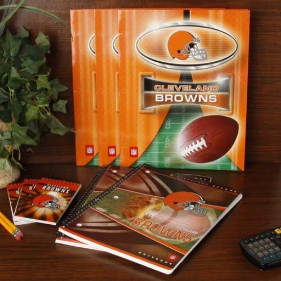 Cleveland Browns School Combo Pack