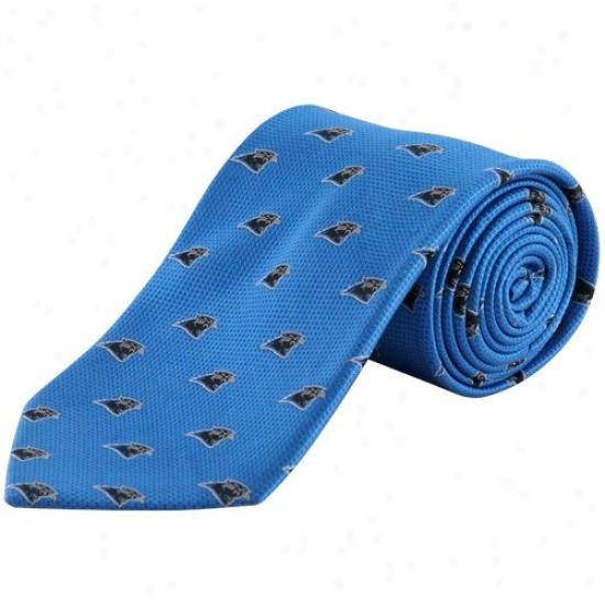 Colony Sportswear Carolina Panthers Panther Livid Silk Team Logo Tie