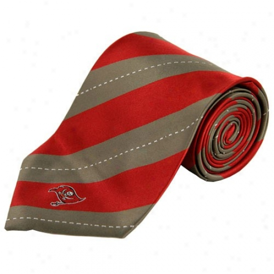 Colony Sportswear Tampa Bay Buccaneers Rep Stripe Tie