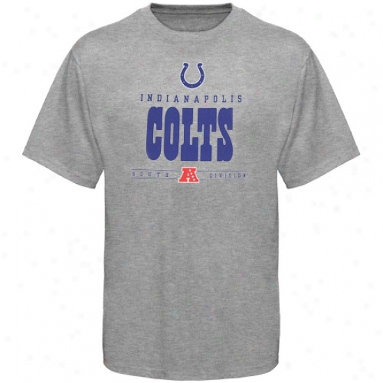 Colts Apparel: Colts Steel Gray Critical Victory T-shirt