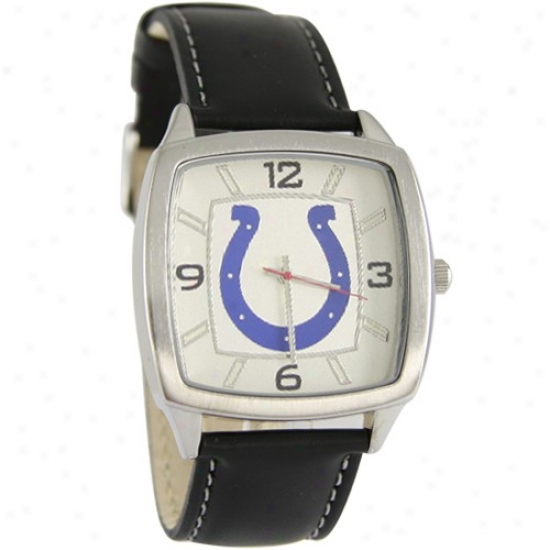 Colts Wrist Watch : Colts Retro Wrist Guard W/ Leather Band