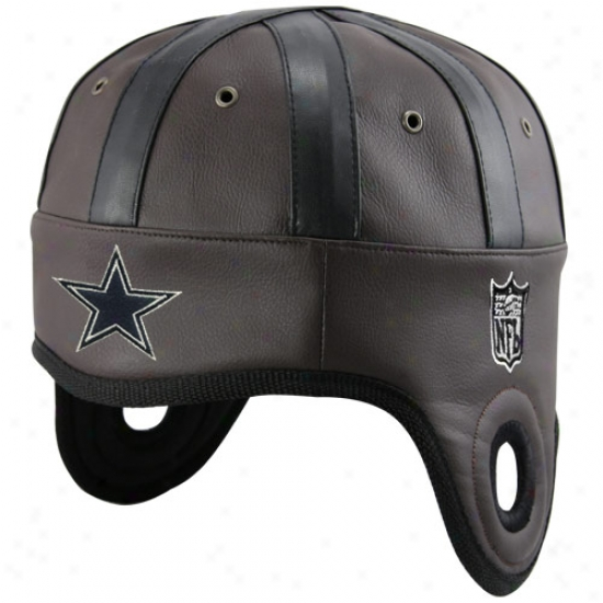 Cowboys Hats : Reebok Cowboys Brown Helmet Head