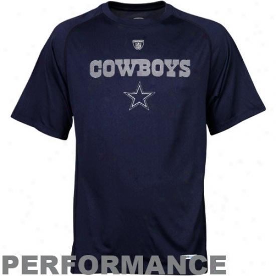 Cowboys Tee : Reebok Nfl Equipment Cowboys Speedwick Performance Tee
