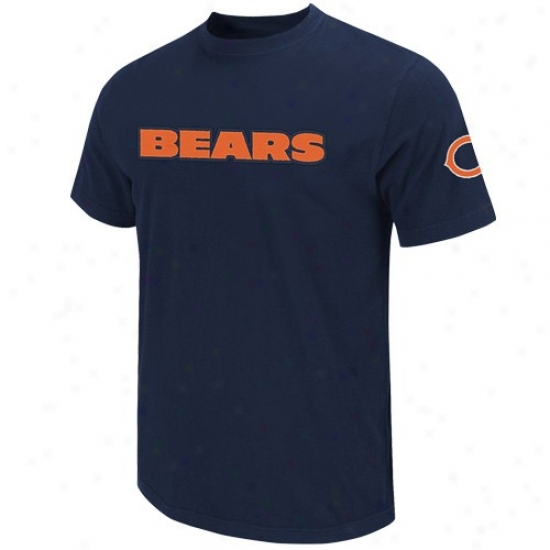 Da Bears Shirt : Da Bears Ships of war Blue Zone Blitz Applique Shirt