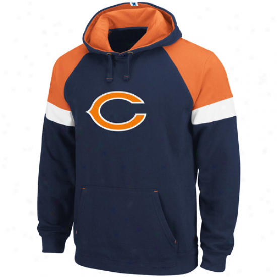 Da Bears Sweat Shirt : Da Bears Navy Blue Passing Game Sweat Shirt
