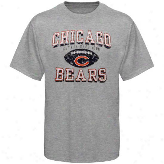 Da Bears T-shirt : Da Bears Ash Regular Season Tri-blend T-shirt