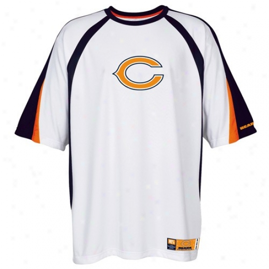 Da Bears T-shirt : Da Bears White Club Seat Fashion Premium Top
