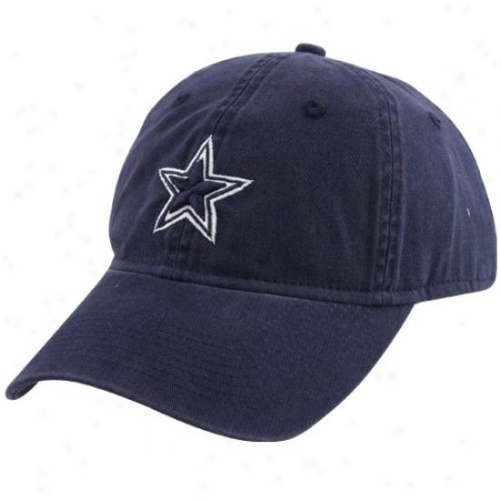 Dallas Cowboy Caps : Reebok Dallas Cowboy Navy Blue Ladies Slouuch Fit Caps