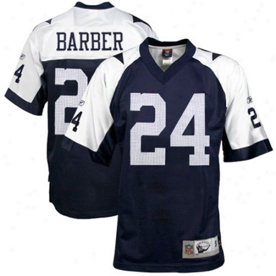 Dallas Cowboy Jerseys : Reebok Nfl Equipment Dallas Cowboy #24 Marion Barber Ships Blue Throwback Replica Footnall Jerseys