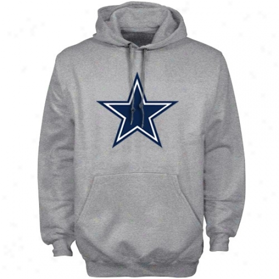 Dallas Cowboy Sweat Shirts : Reebok Dallas Cowboy Ash Official Team Sweat Shirts