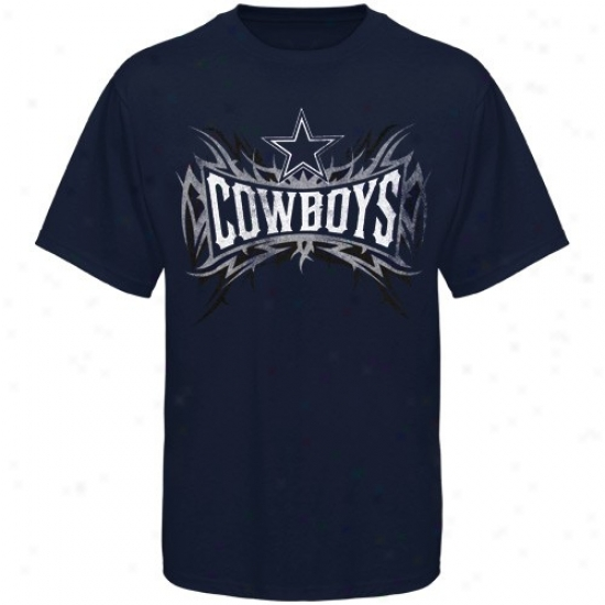 Dallas Cowbot T Shirt : Dallas Cowboy Navy Blue Outlast T Shirt