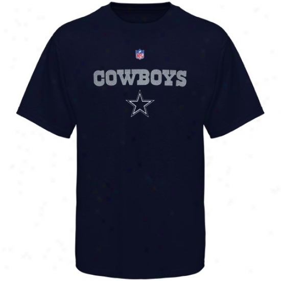Dallas Cowboy Tee : Dallas Cowboy Ships of war Pedantic  Screen Print Tee