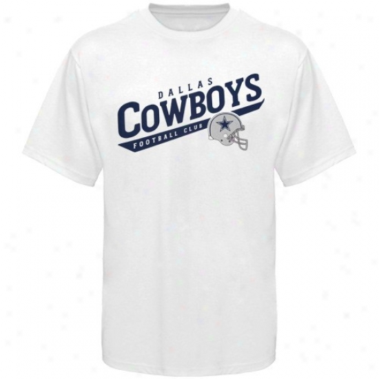 Dallas Cowboy Tshirts : Dalkas Cowboy White The Call Is Tails Tshirts