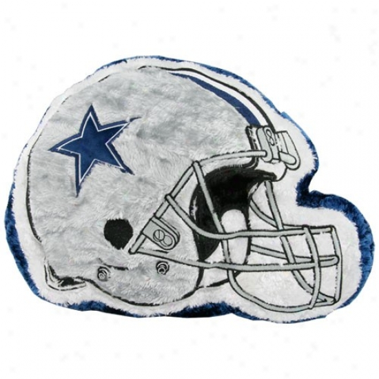 Dallas Cowboys 14'' Team Helmet Push Pillow
