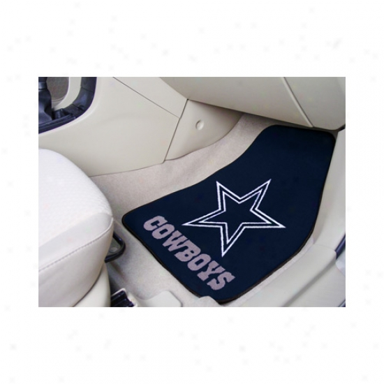 Dallas Cowboys 2 Piece Car Mat Set