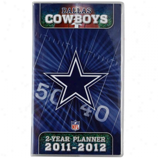 Dallas Cowboys 2011-2O12 Two-year Pocket Calendar