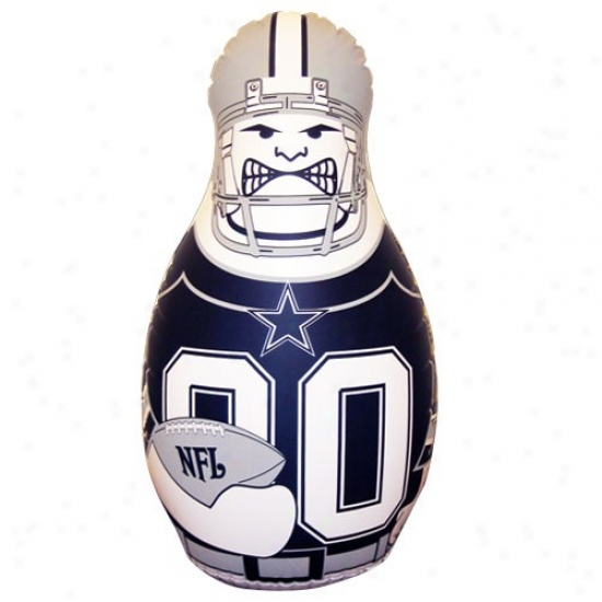 Dallas Cowboys 40'' Inflatable Tackle Buddy Punching Bag