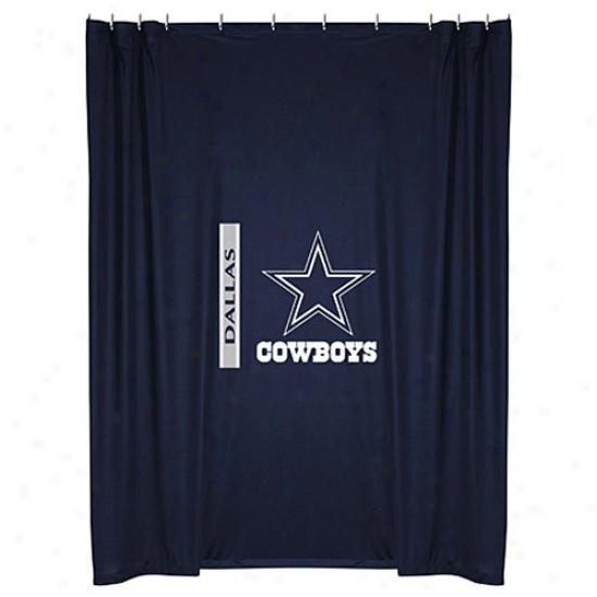 """dallas Cowboys 72""""x7Z"""" Shower Curtain"""