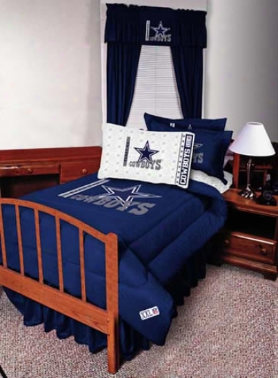 Dallas Cowboys 82x63 Short Drapes